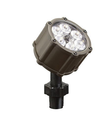 Kichler 15742BBR Landscape 12V 12V 8.5 watt Bronzed Brass Landscape Accent Light photo