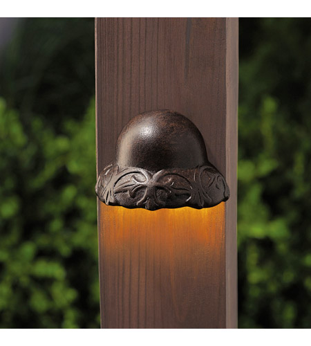 Kichler Lighting Deck LED 1W Light Landscape 12V Landscape 12V LED Deck in Textured Tannery Bronze 15750TZT