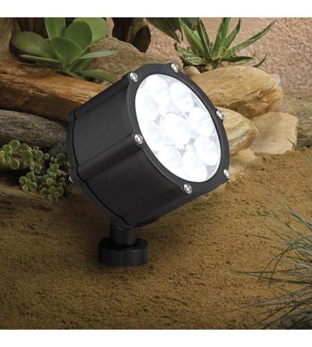 Kichler 15752BKT Landscape 12V 12V Textured Black Landscape Accent Light photo