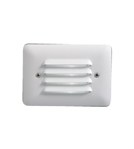 Kichler 15782WHT27 Landscape 12V LED 12V 1 watt White Deck Light in 2700K, LED, 3.25 inch