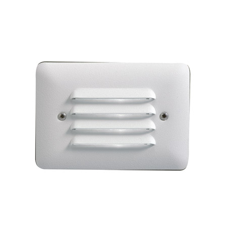 Kichler 15782WHT27 Landscape 12V LED 12V 1 watt White Deck Light in 2700K, LED, 3.25 inch 15782WHT27R.jpg