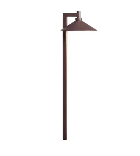 Kichler Lighting LED Ripley Path Landscape 12V LED Path/Spread in Textured Architectural Bronze 15800AZT