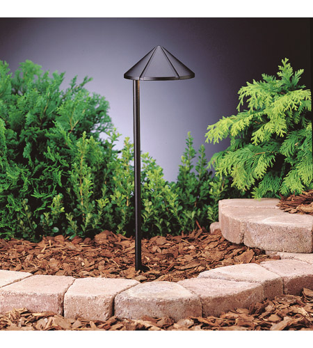 Kichler Lighting Outdoor LED 3 Light Landscape 12V LED Path/Spread in Textured Black 15815BKT