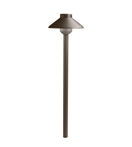 Kichler Lighting Landscape LED Path Light in Textured Architectural Bronze 15821AZT