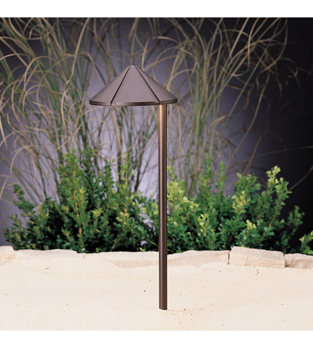 Kichler Lighting LED Side Mount- Cast Brass Landscape 12V LED Path/Spread in Bronzed Brass 15827BBR