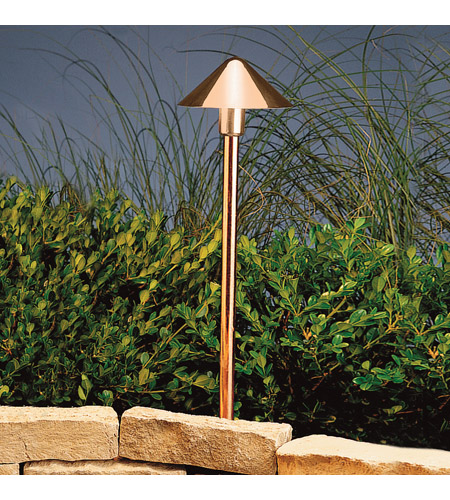 Kichler Lighting Outdoor LED Landscape 12V LED Path/Spread in Copper 15839CO photo