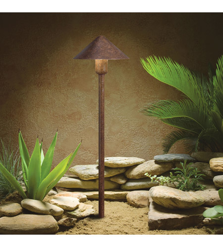Kichler Lighting Outdoor LED Landscape 12V LED Path/Spread in Textured Tannery Bronze 15839TZT