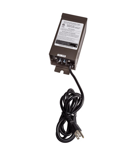 Kichler Lighting Transformer 100W Manual Landscape 12V Transformer in Textured Architectural Bronze 15M100AZT
