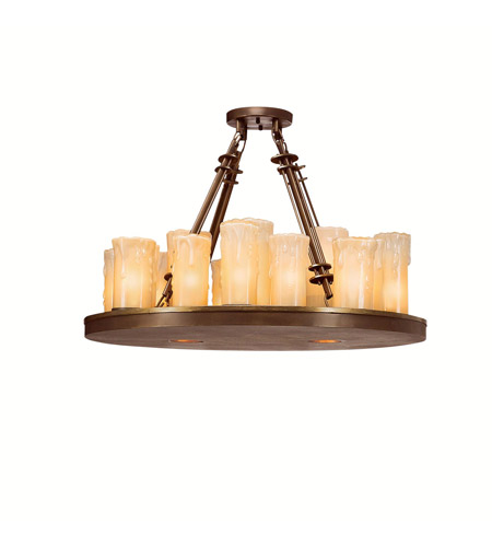 Kichler Lighting Plateau 22 Light Chandelier in Olde Bronze 1601OZ