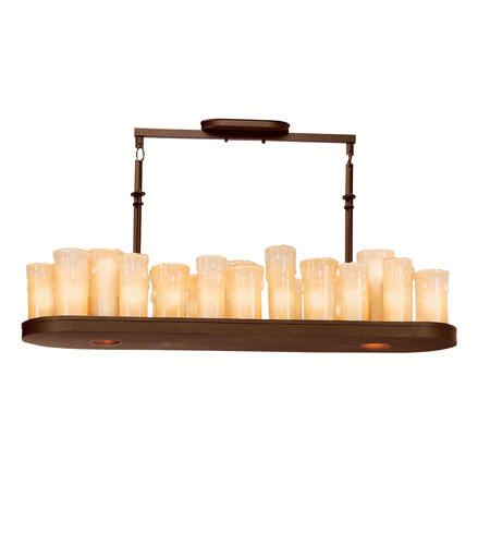 Kichler Lighting Plateau 25 Light Island Light in Olde Bronze 1602OZ