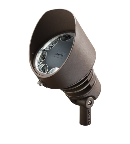 Kichler Lighting Landscape 120V LED 8 Light Landscape Accent in Textured Architectural Bronze 16202AZT30 photo