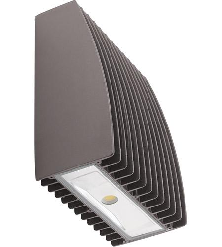 Kichler 16238AZT50 Signature LED 9 inch Textured Architectural Bronze Outdoor Wall Light, Medium photo thumbnail