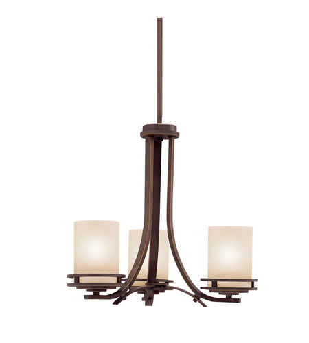 Kichler Lighting Hendrik 3 Light Chandelier in Olde Bronze 1671OZ photo