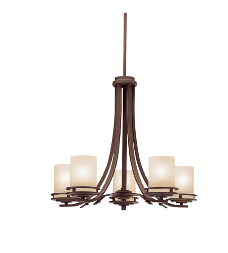 Kichler 1672OZ Hendrik 5 Light 25 inch Olde Bronze Chandelier Ceiling Light photo