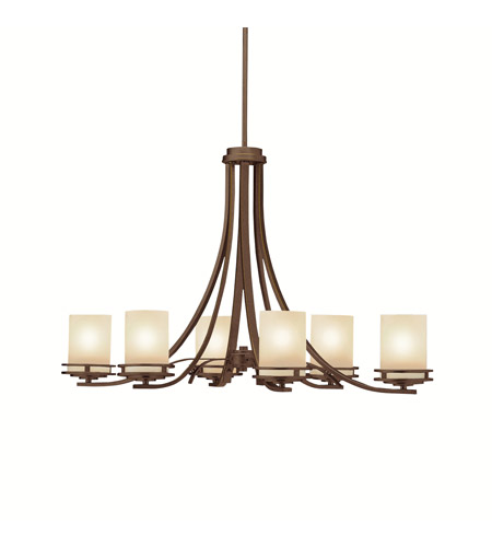 Kichler 1673OZ Hendrik 6 Light 18 inch Olde Bronze Chandelier Ceiling Light photo