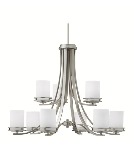 Kichler 1674NI Hendrik 9 Light 33 inch Brushed Nickel Chandelier Ceiling Light photo