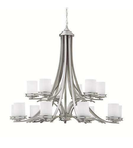 Kichler Lighting Hendrik 15 Light Chandelier in Brushed Nickel 1675NI