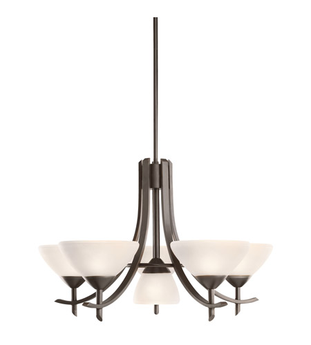 Kichler Olympia 6 Light Chandelier in Olde Bronze 1676OZW photo