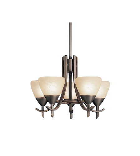 Kichler Lighting Olympia 5 Light Mini Chandelier in Olde Bronze 1678OZ