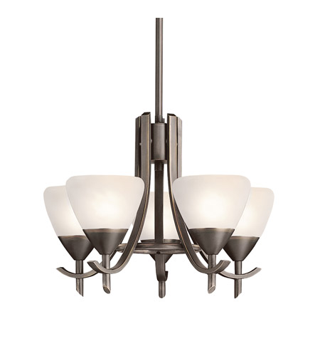 Kichler Lighting Olympia 5 Light Mini Chandelier in Olde Bronze 1678OZW