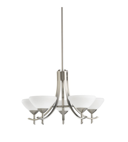 Kichler Lighting Olympia 5 Light Chandelier in Antique Pewter 1679AP