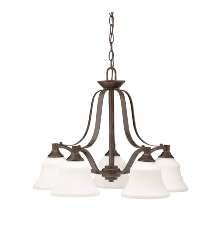 Kichler Lighting Langford 5 Light Chandelier in Olde Bronze 1782OZ photo