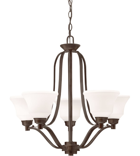 Kichler Lighting Langford 5 Light Chandelier in Olde Bronze 1783OZ photo