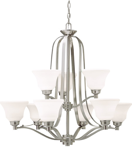 Kichler 1784NI Langford 9 Light 33 inch Brushed Nickel Chandelier Ceiling Light photo