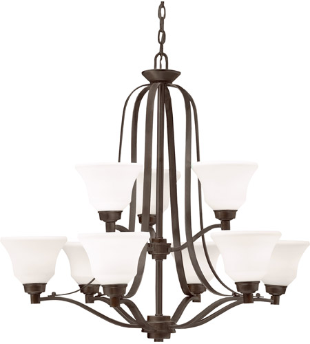 Kichler Lighting Langford 9 Light Chandelier in Olde Bronze 1784OZ photo