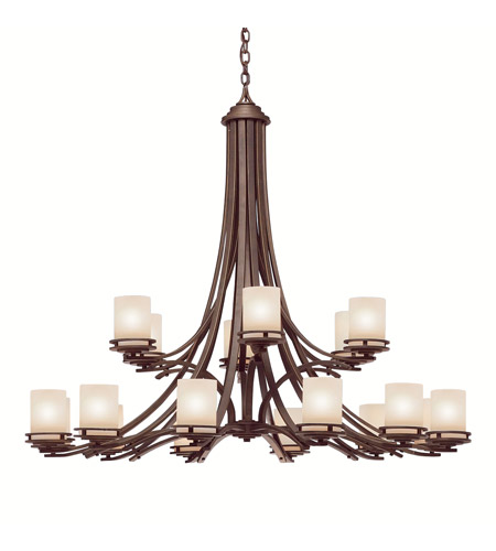 Kichler Lighting Hendrik 18 Light Chandelier in Olde Bronze 1873OZ photo