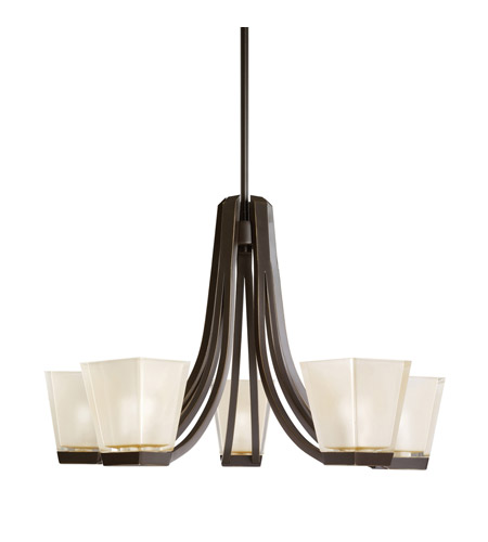 Kichler Lighting Urban Ice 5 Light Chandelier in Olde Bronze 1957OZ