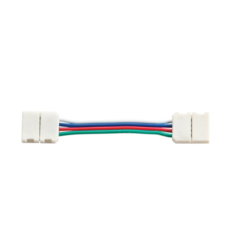 Kichler Lighting LED Tape Interconnect RGB 2in in White Material 1IC02RGBWH