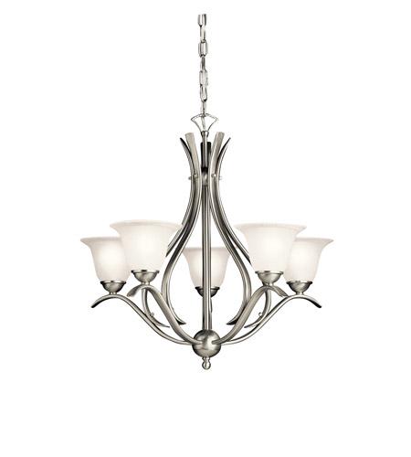 Kichler 2020ni dover 5 light 24 inch brushed nickel chandelier kichler 2020ni dover 5 light 24 inch brushed nickel chandelier ceiling light aloadofball Gallery