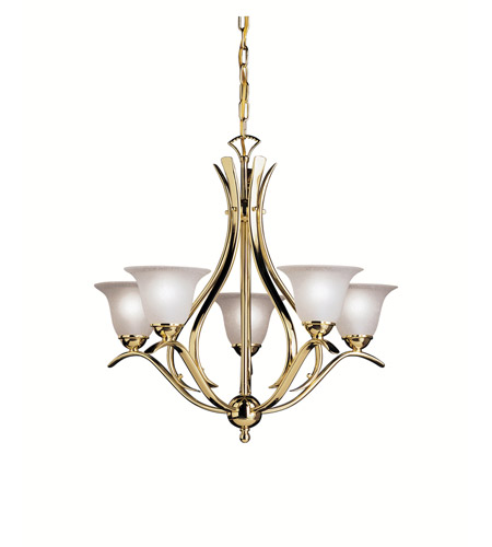 Kichler Lighting Dover Chandelier in Polished Brass 2020PB photo