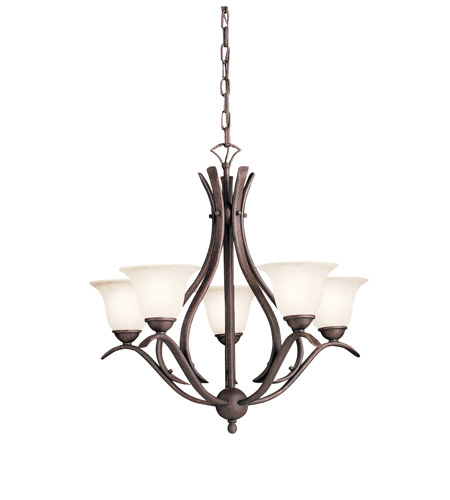 Kichler Lighting Dover 5 Light Chandelier in Tannery Bronze 2020TZ photo