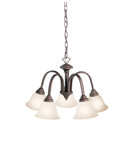 Kichler Lighting Hastings 5 Light Chandelier in Tannery Bronze 2022TZ