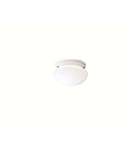 Kichler Lighting Ceiling Space 1 Light Flush Mount in White 206WH