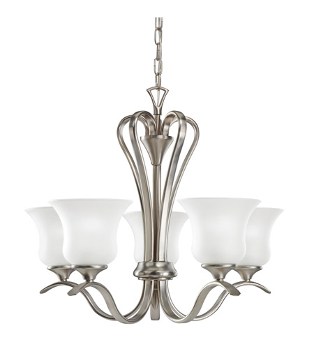 Kichler Lighting Wedgeport 5 Light Chandelier in Brushed Nickel 2085NI photo
