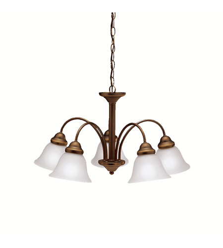 Kichler 2093OZ Wynberg 5 Light 25 inch Olde Bronze Chandelier Ceiling Light photo