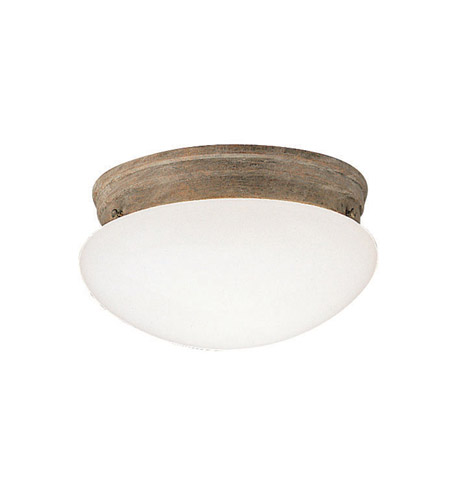 Kichler Lighting Ceiling Space 2 Light Flush Mount in Olde Brick 209OB