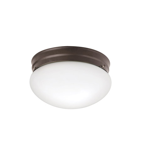 Kichler 209OZ Ceiling Space 2 Light 9 inch Olde Bronze Flush Mount Ceiling Light photo