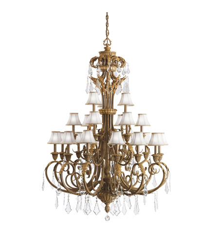 Kichler 2101RVN Ravenna 21 Light 54 inch Ravenna Chandelier Ceiling Light photo