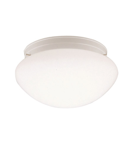 Kichler 210WH Ceiling Space 2 Light 12 inch White Flush Mount Ceiling Light photo