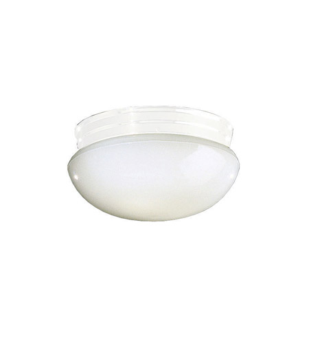 Kichler Lighting Ceiling Space 2 Light Flush Mount in White 211WH