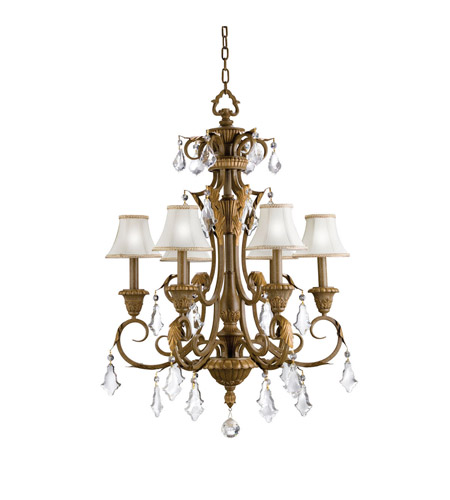 Kichler Lighting Ravenna 6 Light Chandelier in Ravenna 2130RVN