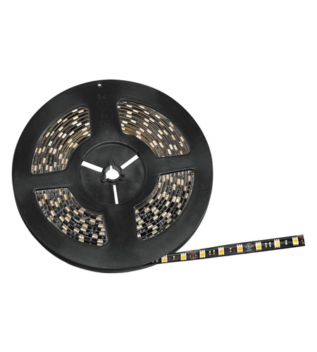 Kichler Lighting Damp Location LED Tape IP65 High Output 3600K 20ft in Black Material 220H36BK