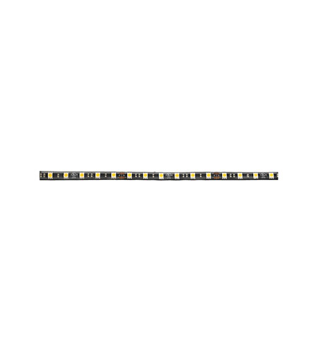 Kichler Lighting Damp Location LED Tape IP65 High Output Blue 20ft in Black 220HBBK