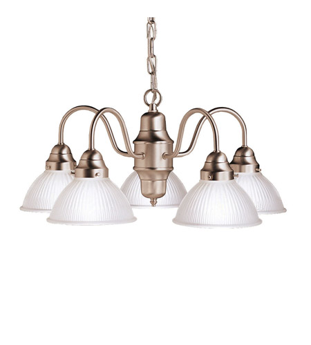 Kichler Lighting Cape May 5 Light Chandelier in Brushed Nickel 2320NI photo