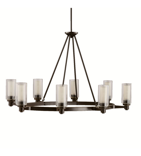 Kichler 2345OZ Circolo 8 Light 36 inch Olde Bronze Island Light Ceiling Light photo