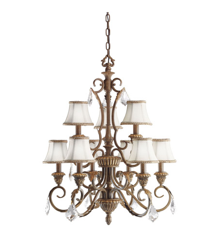 Kichler Lighting Ravenna 9 Light Chandelier in Ravenna 2441RVN photo